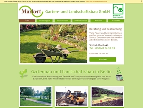 garten und landschaftsbau markert. Black Bedroom Furniture Sets. Home Design Ideas
