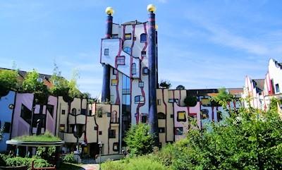 sehenswertes das hundertwasserhaus in plochingen. Black Bedroom Furniture Sets. Home Design Ideas
