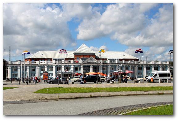 Sehenswertes Hauptbahnhof Rostock Central Station