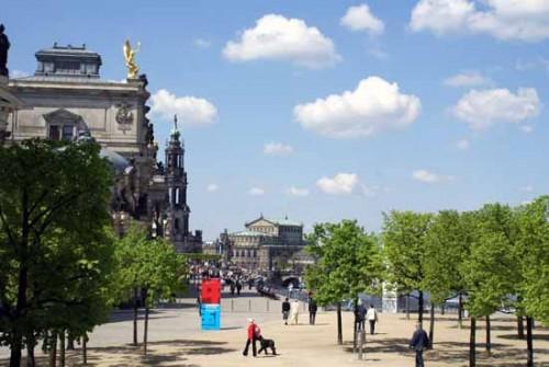 Sehenswertes Br Hlsche Terrasse Balkon Von Dresden