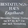 Bestattungshaus Engelhardt - Tag & Nacht erreichbar: 03991 665547