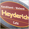 Konditorei Bäckerei Heyderich