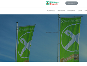 Altländer Obst eG | Raiffeisenmarkt Altes Land