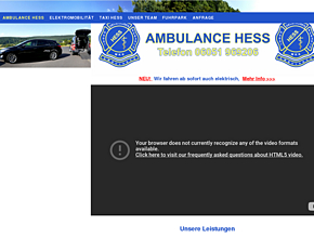 Ambulance & Krankenfahrten Andreas Hess
