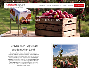 APFELSAFTSACK - Obsthof Ueck | Bag-in-Box | Apfelsaftherstellung | Weirouge-Jork