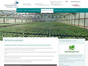 aromatico - die Gärtnerei der Lebenshilfe