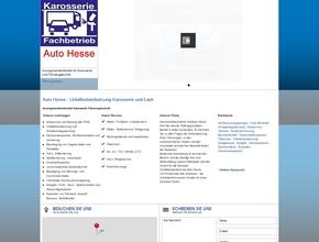 Auto Hesse - Unfallinstandsetzung Karosserie und Lack