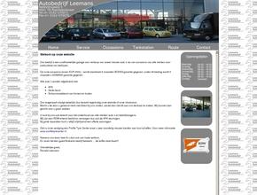 Autobedrijf Leemans - Autoverkoop - Onderhoud - Autobanden