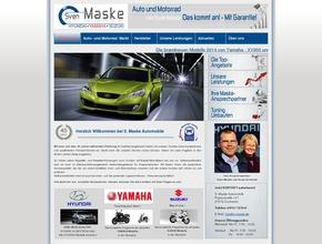 Autohaus S. Maske Automobile und Motorräder