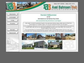 Axel Bahnsen Bau