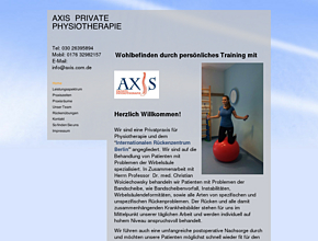 AXIS private Physiotherapie