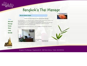 Bangkok''a Thai Massage