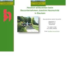 Bauunternehmen Bautzen joachim haunschild