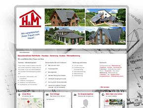 Bauunternehmen Ralf M�ller | Hausbau | Sanierung | Ausbau | W�rmed�mmung