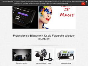 Beleuchtung Fotostudio, Blitzsysteme Fotografie | ELWA GmbH