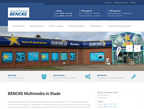 BENCKE multimedia GmbH | Telefonanlagen | PC | LCD | Software Stade bei Hamburg