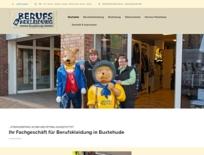 Berufsbekleidung Buxtehude | Stade | Hamburg | Bestickung | Textilveredelung