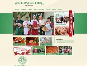 Bio-Fleischerei-Mörl Inhaber Sebastian Mörl