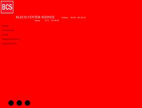 Blech-Center-Sehnde