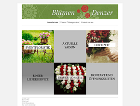 """Blumen Denzer """"Der Blumenladen mit Service"""""""