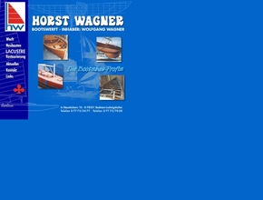 Bootswerft Horst Wagner, Inh. Wolfgang Wagner