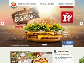 Burger King Schnellrestaurant