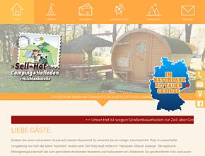 Campinghof Sell | Hofladen & Camping im Naturpark Zittauer Gebirge