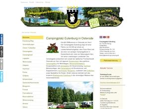 Campingplatz Eulenburg mit Gast- und Kaminstube für Jedermann