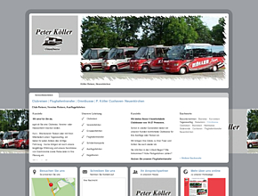 Clubreisen | Flughafentransfer | Omnibusse |  P. Köller Cuxhaven- Neuenkirchen
