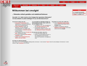 cmslight Emmerich Softwarevertrieb