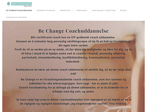 Coachuddannelse Be Change