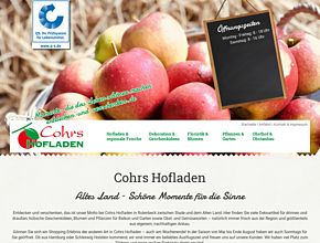 Cohrs Hofladen | Floristik