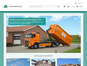 Containerdienst Karl-Meyer24.de | Container mieten | Abrollcontainer