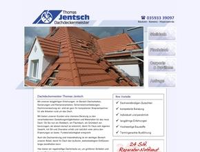 Dachdeckermeister Thomas Jentsch   Dacharbeiten u. Sanierung   Neschwitz OT Luga