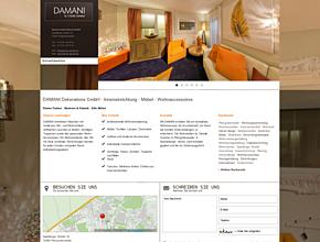 DAMANI Dekorations GmbH   -   Inneneinrichtung - M�bel - Wohnaccessoires