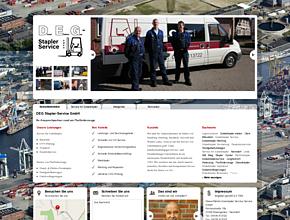 DEG Stapler-Service GmbH | UVV Pr�fung | Gabelstapler | Mietger�te