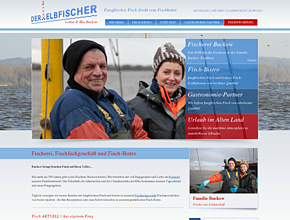 Der Elbfischer - Lothar Buckow | Fischerei, Fischfachgeschäft, Stint & Aal Essen