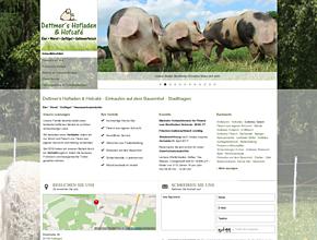 Dettmer's Hofladen & Hofcafé - Einkaufen auf dem Bauernhof - Stadthagen