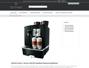 Dittmer Gastro-Service | Exzellente-Espresso-Ergebnisse