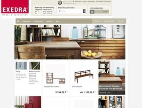 exedra m bel accessoires. Black Bedroom Furniture Sets. Home Design Ideas