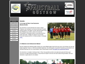 Faustball Güstrow - Güstrower SC 09