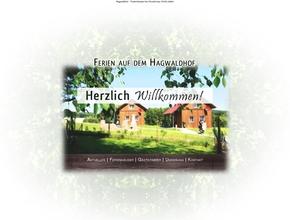 Ferienhäuser / Ferienwohnungen Hagwaldhof