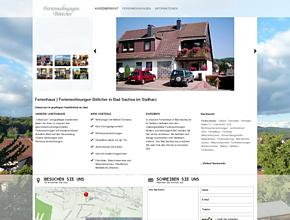 Ferienhaus | Ferienwohnungen Böttcher in Bad Sachsa im Südharz