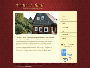 Ferienhaus Kanig - Walter's Häusel | Waltersdorf - Naturpark Zittauer Gebirge