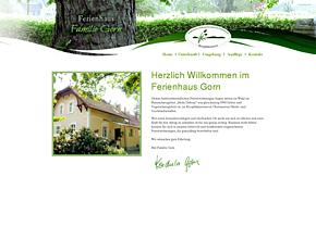Ferienwohnung der Familie Gorn am Quitzdorfer See OT Steinölsa