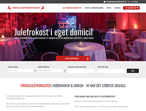 Firmajulefrokost CPH event