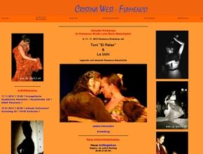 Flamenco - Tanz - Cristina West
