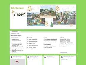 G�rtnerei P. Hofer