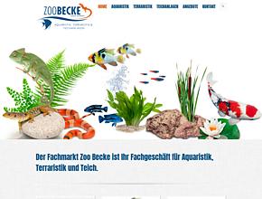 Gartenteiche Ruhrgebiet, Terrarien, Aquarien - ZOOBECKE
