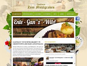 Restaurant in Bad Langensalza   Gasthaus Zum Mühlgraben